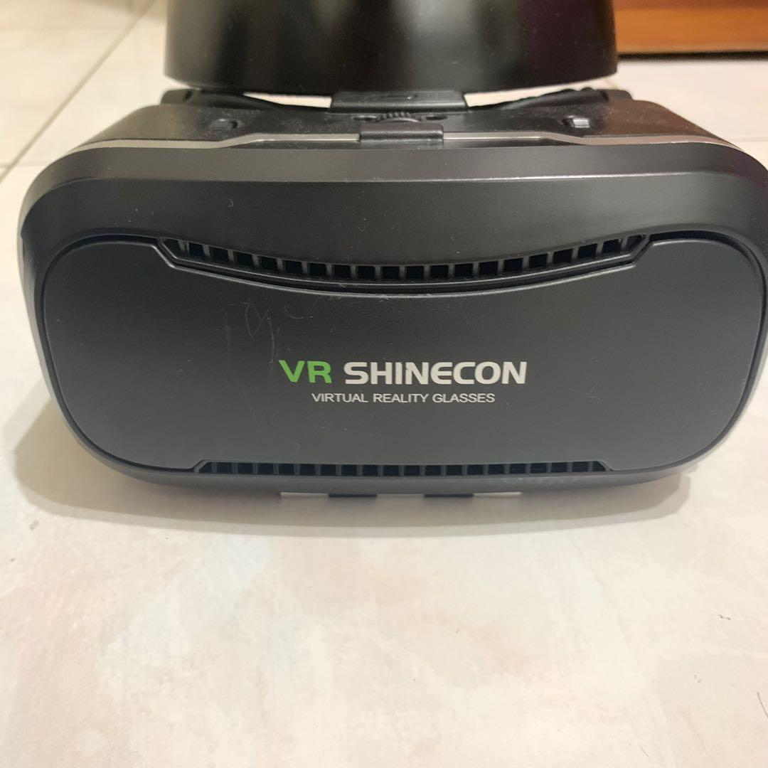 VR SHINECON VIRTUAL REALITY GLASSES 虛擬實境頭盔含耳機