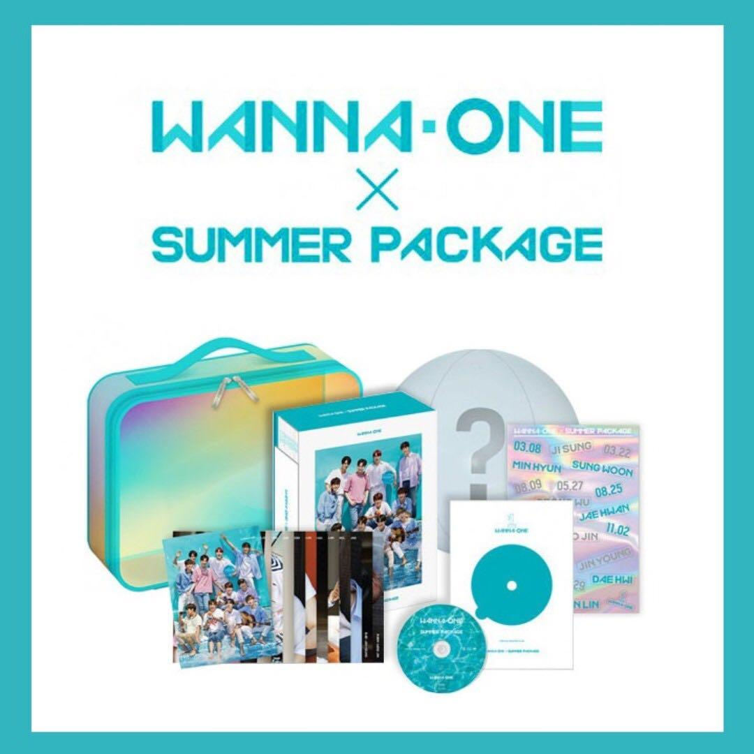Wanna One Summer Package 首批 full set