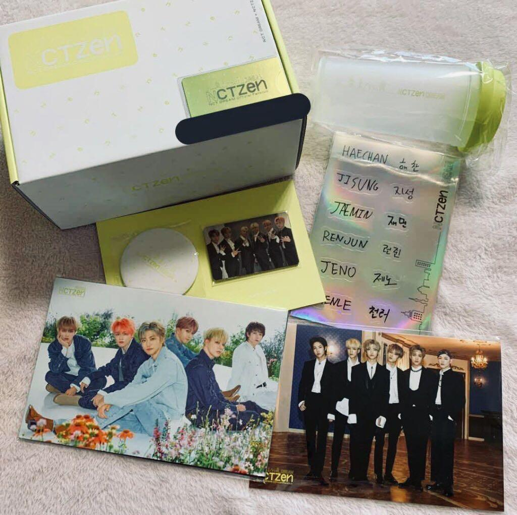 WTS NCT Dream Ace Welcome Kit