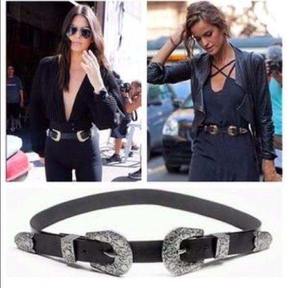 Zara Double Buckle Belt