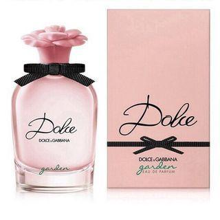 DOLCE & GABBANA D&G Dolce garden 恬蜜花園淡香精 50ml 杜嘉班納 全新未拆