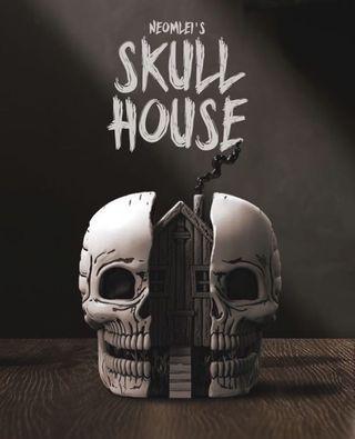 ⚠️10/29結單⚠️ Mighty Jaxx 藝術家系列 Skull House 雕像公仔