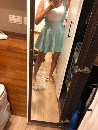 糖果色可愛吊帶裙#五折清衣櫃