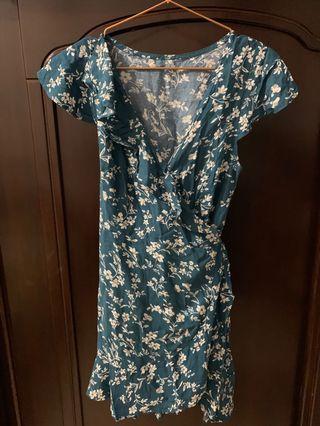 🎉換季出清🎉碎花藍色洋裝