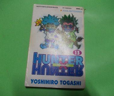 COMIC / MANGA / KOMIK HUNTER X HUNTER : KARYA YOSHIHIRO TOGASHI (YUYU HAKUSHO) COMIC HOUSE VOL. 13