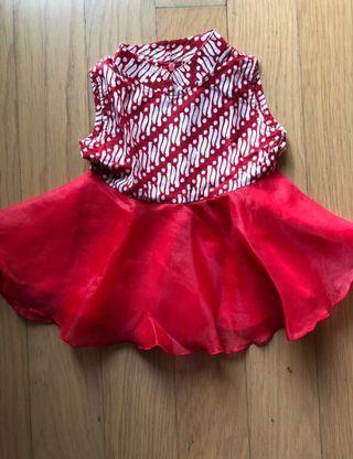Dress Batik Baby