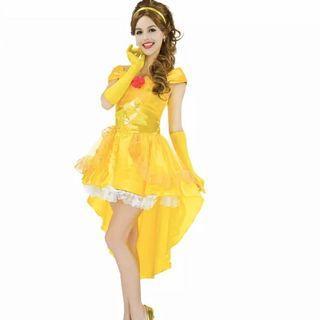 4pc Belle Halloween Costume (S-M)