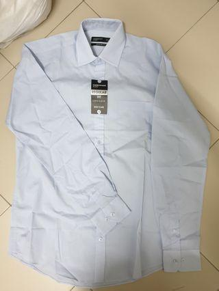 "Regular Fit Long Sleeve Formal Shirt Size 14.5"" / 37cm"