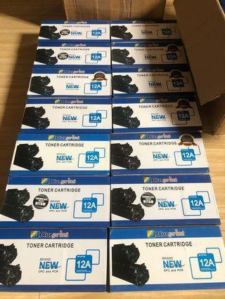 Toner Catridge 12A blueprint( new) SALE!