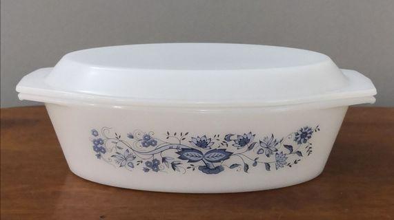 arcopal oval casserole bowl
