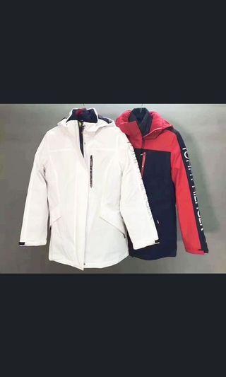 Tommy Hilfiger(二件式外套)可拆賣、白色女版L