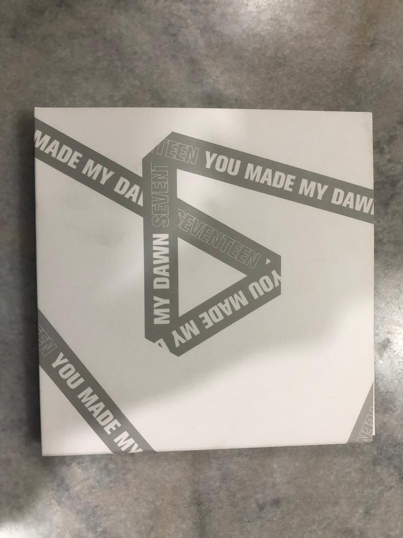 100% authentic Seventeen- You made my dawn mini album