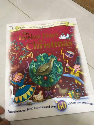 Twelve days of Christmas (Stickers & Activity Book)
