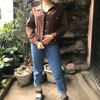 Jaket semi jeans
