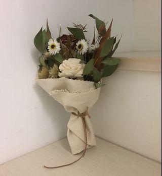 手作 乾燥花花束