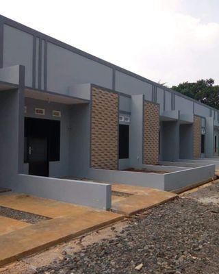 Cluster Rumah Design Minimalis Industrial Sejuk Dan Asri DP Ringan Kpr Dibantu