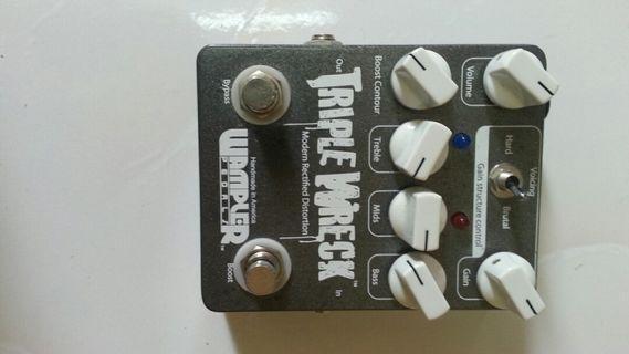 Wampler triple wreck distortion pedal usa