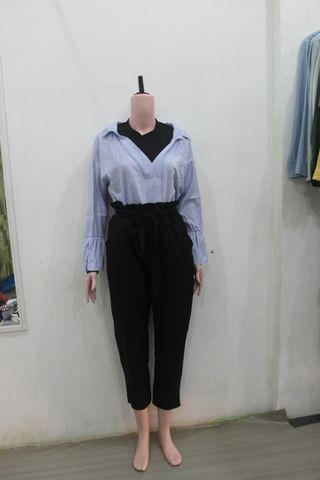 Belted pants (blouse habis)