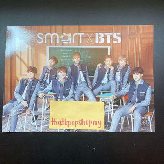 [OFFICIAL] SMART X BTS PRINTED SIGN