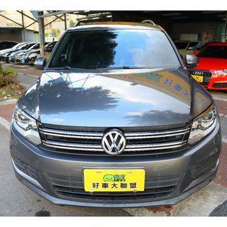 旭騰車業 HOT大聯盟認證 2013 VW Tiguan 1.4 TSI 大天窗特式版本
