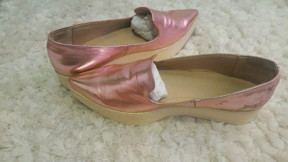 Authentic Zara pink shoes