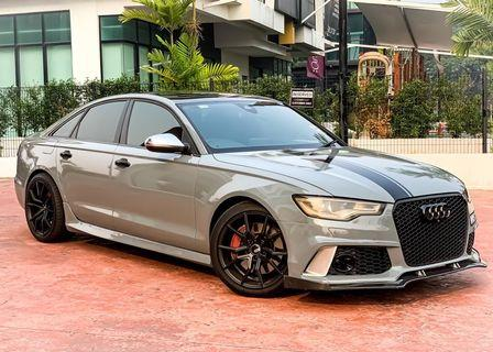 AUDI A6 400HP 3.0 STAGE 3 QUATTRO S-LINE(A) FULLY CONVERTED TO RS6