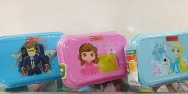 Kotak makan motif kartun technoplast / bekal anak BPA free