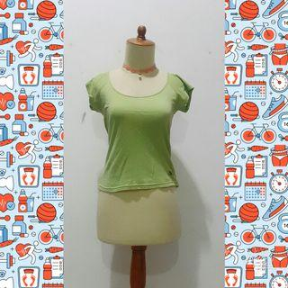 #reprice Lime Green T-shirt