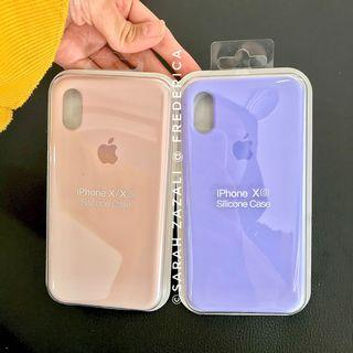 Original iPhone Silicon Case (NOT Full Cover) [READY STOCK]