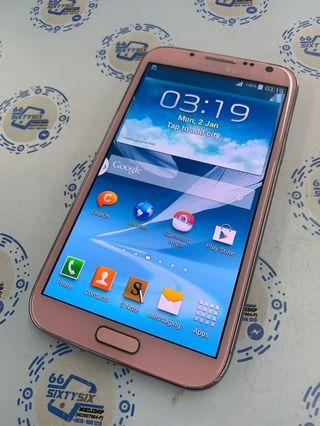 Samsung Galaxy Note 2 ( LIMITED pink)