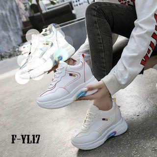 Real picture Vc@Rp 270.000 SEPATU WEDGES KOREA YL17 RV TYPE       :YL17 -00105
