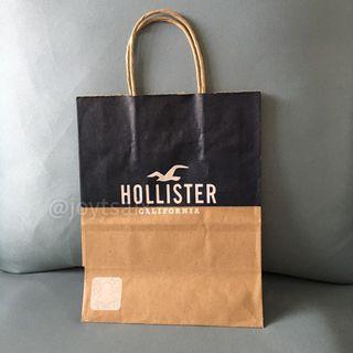 Hollister紙袋 小提袋