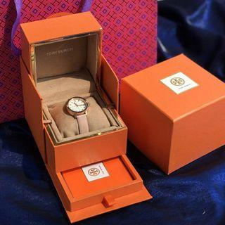 Authentic Tory Burch leather strap ladies Watch