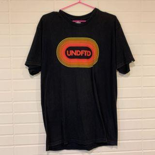 正品Undefeated  黑色 美國帶回 短袖 t shirt