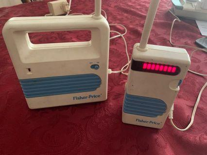 Authentic Fisher Price Baby monitor