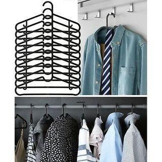 Hanger hitam minimalis 10pcs