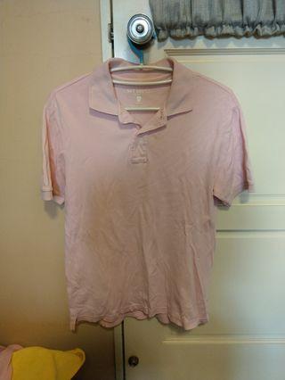 男女都適合/短袖粉色上衣