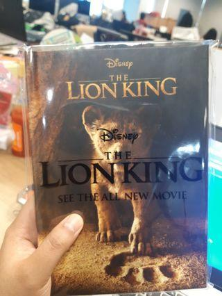 NOTEBOOK DISNEY LION KING