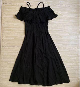 黑色 小禮服 長裙