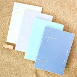 My Days Activity Thick Grid Notebook B5