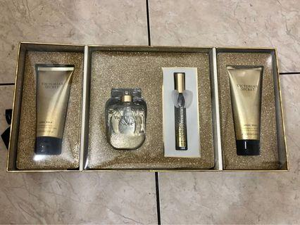 Victoria Secret Angel Gold Perfume Set
