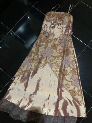 Gown long dress