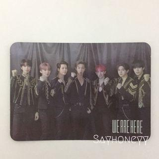 Monsta X We Are Here DVD group photocard