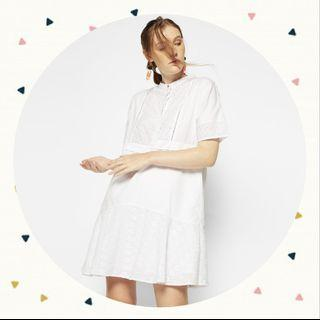 Cottonink shirt dress white