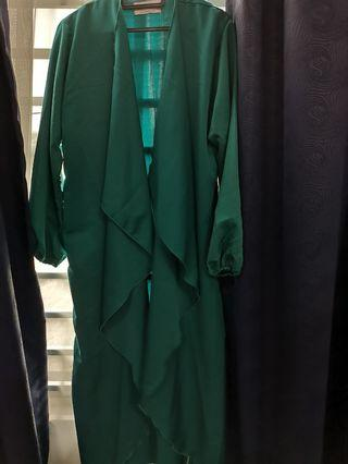 Calaqisya jubah cardigan