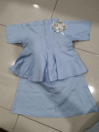 Baju Kurung Baby belle babies