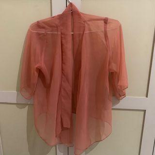 Outwear warna Salmon