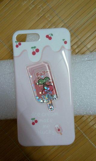 可愛櫻桃冰棒手機殼 iPhone 8 plus