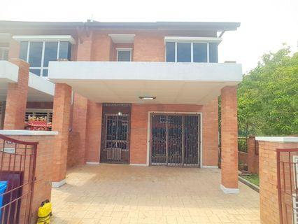 Double Storey Terrace End Lot Alam Budiman Shah Alam Reno Furnish