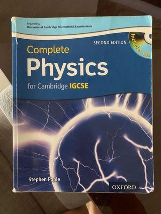 Cambridge physics